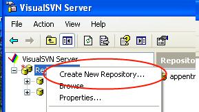 Visual SVN (Adding Repo)